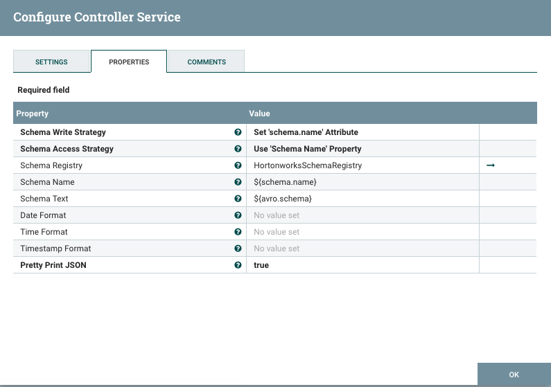 Apache NiFi - Records and Schema Registries